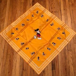 Mickey Mouse Walt Disney Productions Scarf